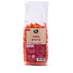 תמונת פסטה 100% עדשים ללא גלוטן 250 גרם