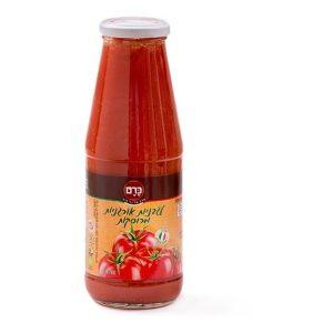 תמונת רוטב עגבניות אורגניות מרוסקות כרם - 700 גר'