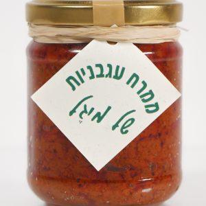 תמונת ממרח עגבניות של מיגל