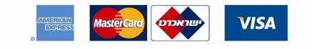 תמונת סוגי כרטיסי אשראי לתשלום